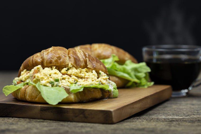 Egg Croissant Casserole
